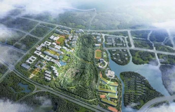 南京大学苏州校区概念设计方案,未来校区长这样哦~