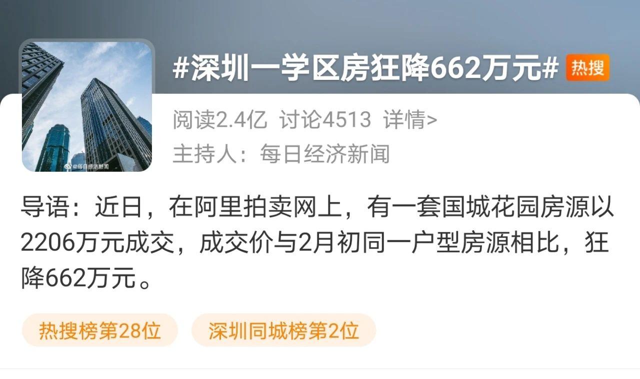 炸锅!一名校学区房狂降662万成交!各地连出新政,学区房惨了?